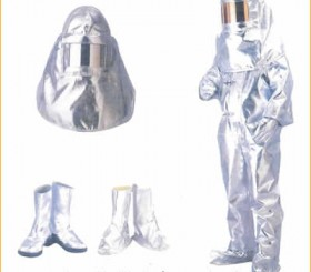 Ateşe Dayanıklı Elbise - Fireproof Work Clothes