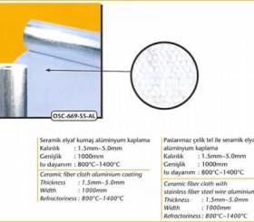Yüksek Isıya Dayanıklı Kumaş - High Temperature Fabrics